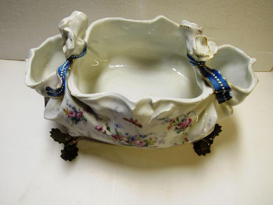 Antique Victorian fancy porcelain bowl - 5