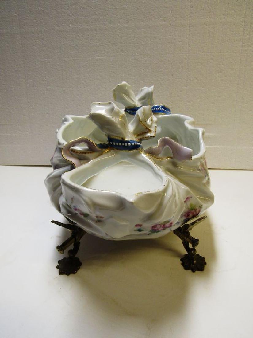 Antique Victorian fancy porcelain bowl - 6