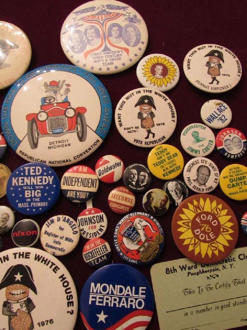 Lot of political pinback buttons(50) - 4