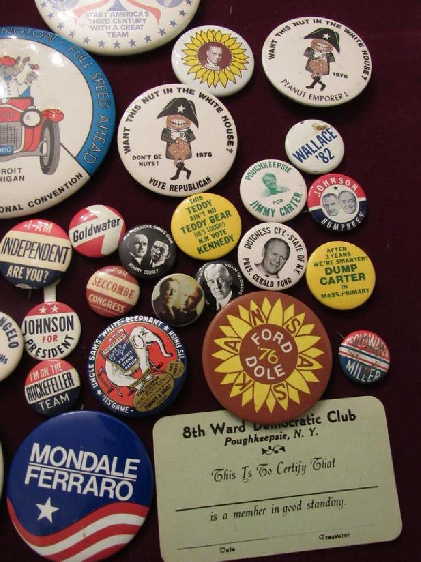 Lot of political pinback buttons(50) - 5