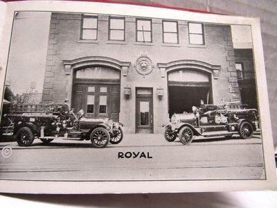 1920 York PA Fire Dept Souvenir booklet