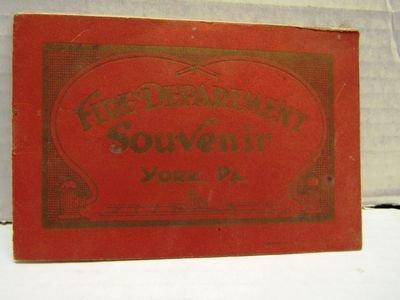 1920 York PA Fire Dept Souvenir booklet - 3