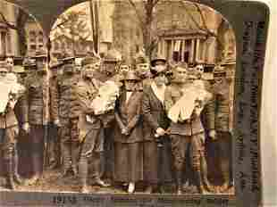 Antique WWI Stereoview