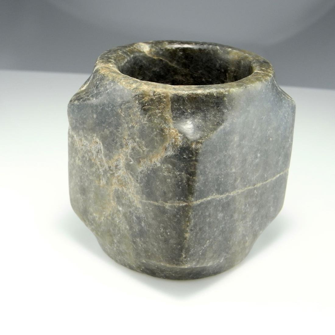 NEOLITHIC JADE CONG STONE AGE ARCHAIC RITUAL ARTIFACT