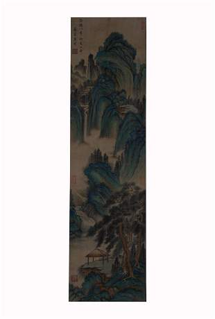 Tang Yin, Landscape Painting