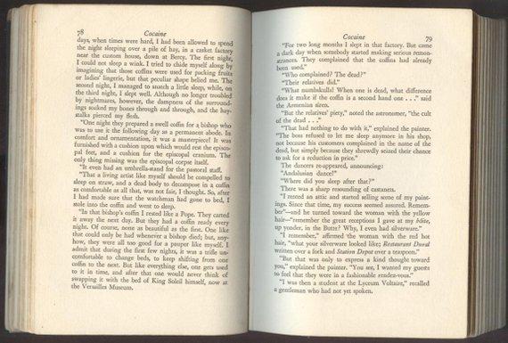 Pitigrilli aka Dino Segre, Cocaine, 1st US Edition 1933 - 3