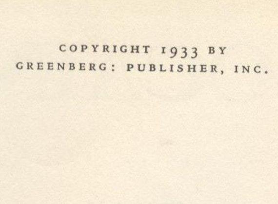 Pitigrilli aka Dino Segre, Cocaine, 1st US Edition 1933 - 4