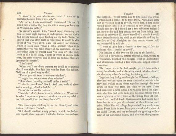 Pitigrilli aka Dino Segre, Cocaine, 1st US Edition 1933 - 5