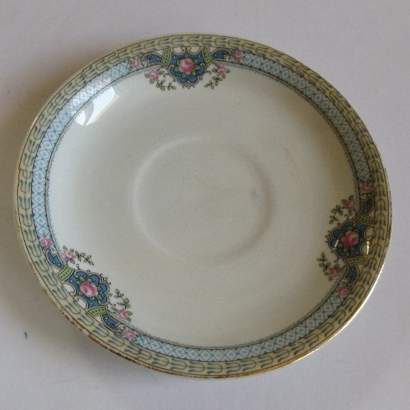 Antique set Nippon fine porcelain bowl and spoon - 4