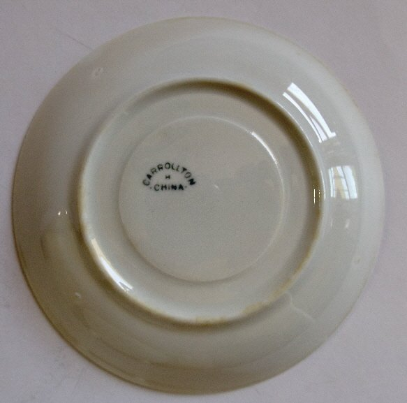 Antique set Nippon fine porcelain bowl and spoon - 5