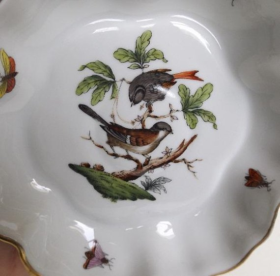 Hungary Rothschild Bird hand-painted porcelain 1930s - 10