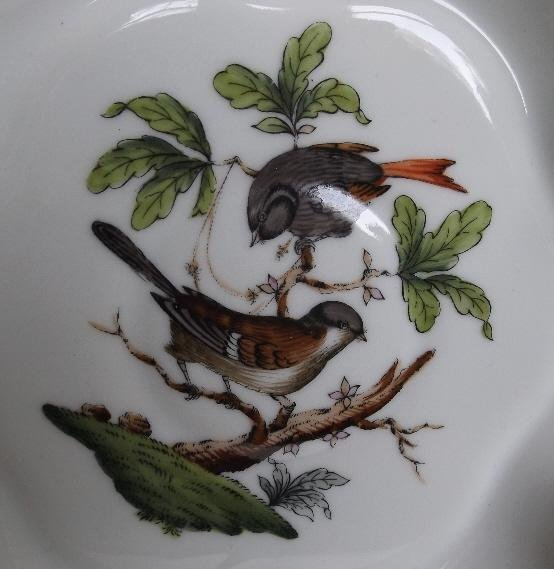 Hungary Rothschild Bird hand-painted porcelain 1930s - 4