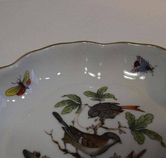 Hungary Rothschild Bird hand-painted porcelain 1930s - 5