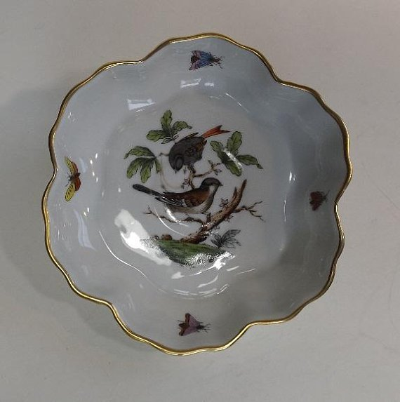Hungary Rothschild Bird hand-painted porcelain 1930s - 6