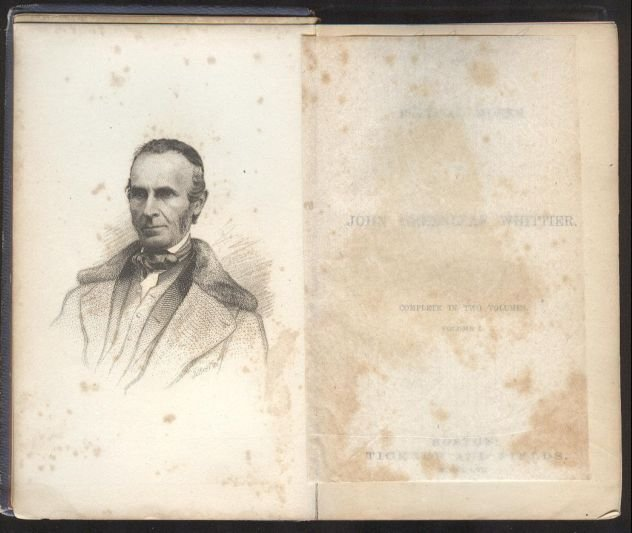 John Greenleaf Whittier, Poems 1st/1st 1857 - 3