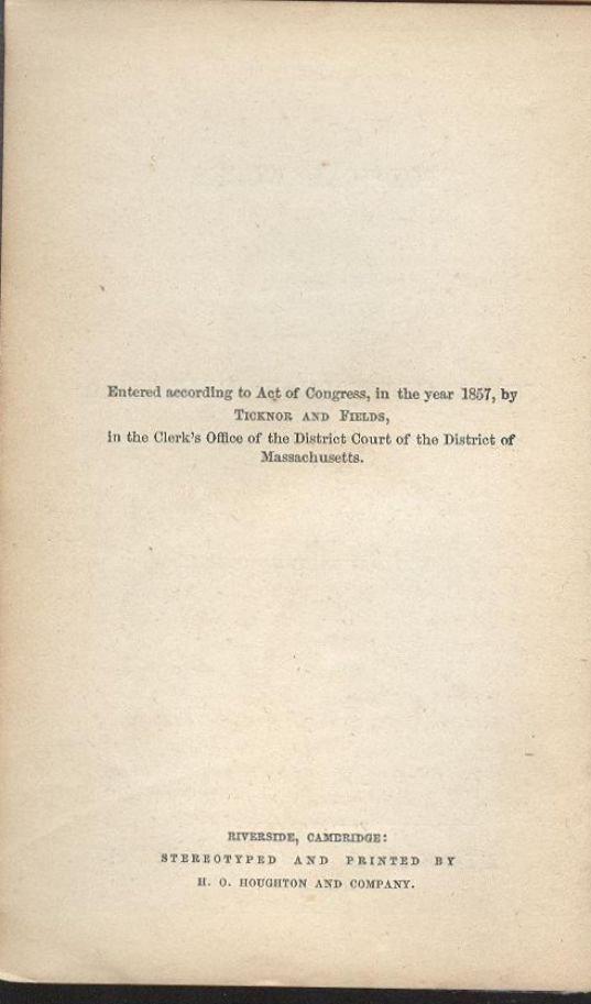 John Greenleaf Whittier, Poems 1st/1st 1857 - 5