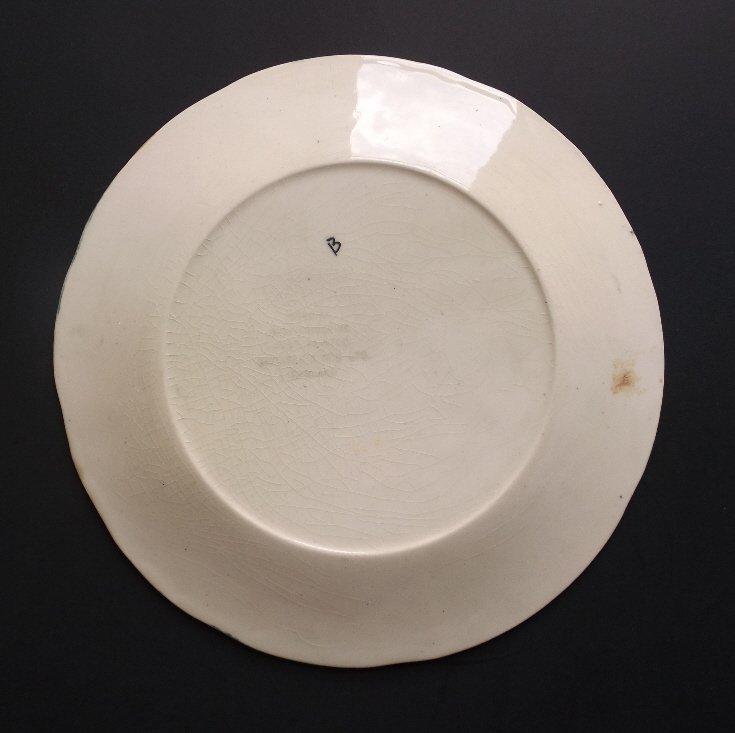porcelain Toby with Mug Plate, Shorter & Son 1920s - 3