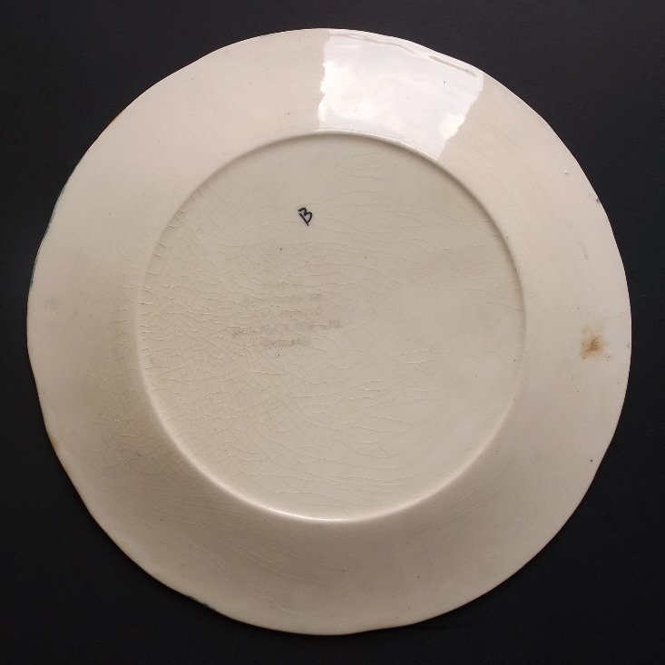 porcelain Toby with Mug Plate, Shorter & Son 1920s - 6