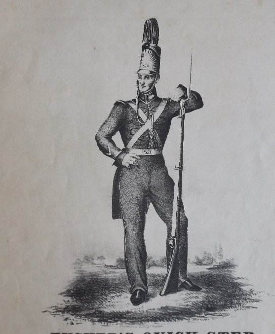 Tuckers Quick Step, 1836, Military Sheet Music, Litho - 3