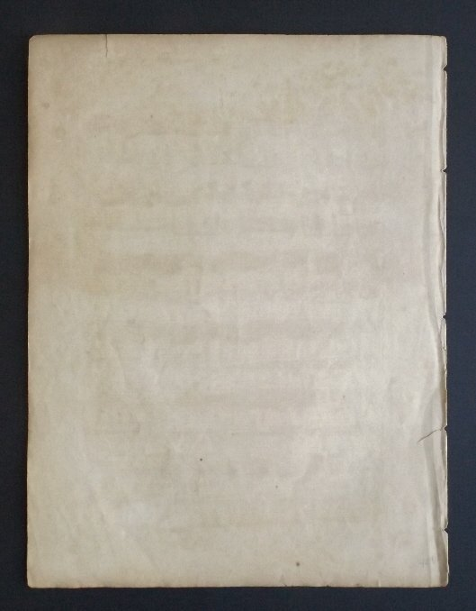 Blues Quick Step 1836 Military Sheet Music, Litho - 6