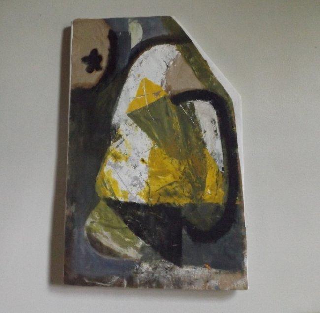Irakli Parjiani Abstract Composition 1989 listed artist
