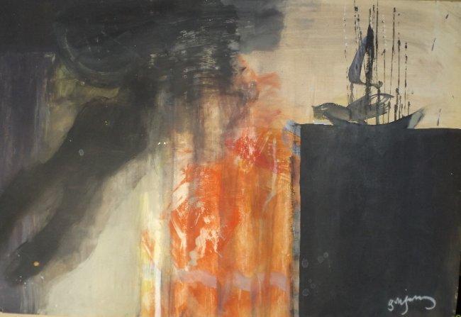 Irakli Parjiani, Odysseus, The Edge of Earth, 1989