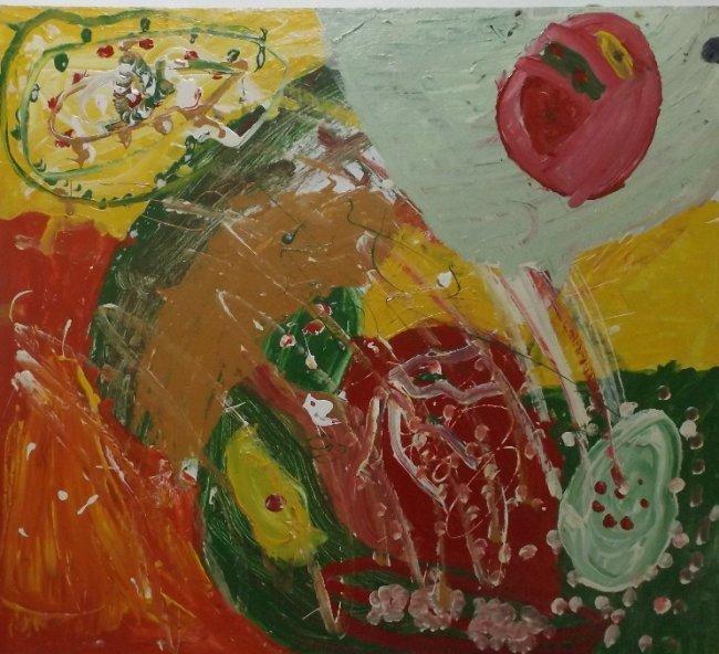 Irakli Parjiani & Sophia, Abstract Conposition 1989