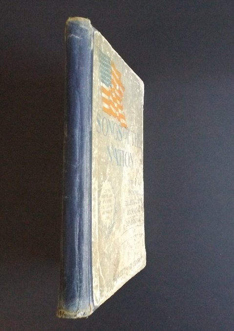 Songs of the Nation 1896 Sheet Music hard cover book - 6