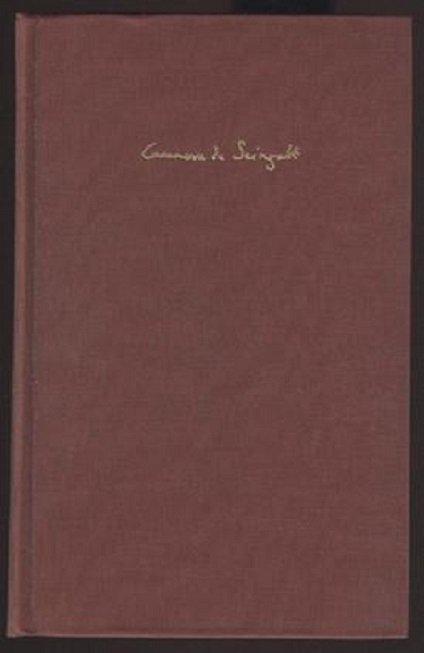 Giacomo Casanova, History of my Life 1966 - 10
