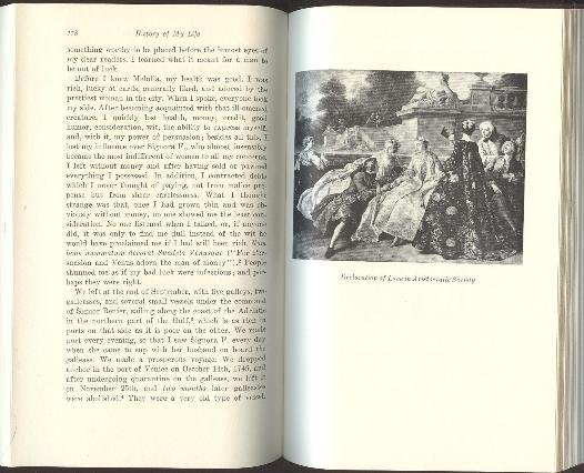 Giacomo Casanova, History of my Life 1966