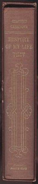 Giacomo Casanova, History of my Life 1966 - 3