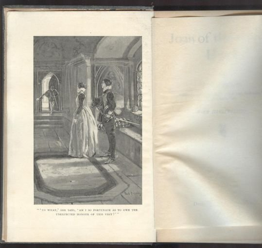 Crockett, Joan of the Sword Hand, 1st Ed. 1900 ill.