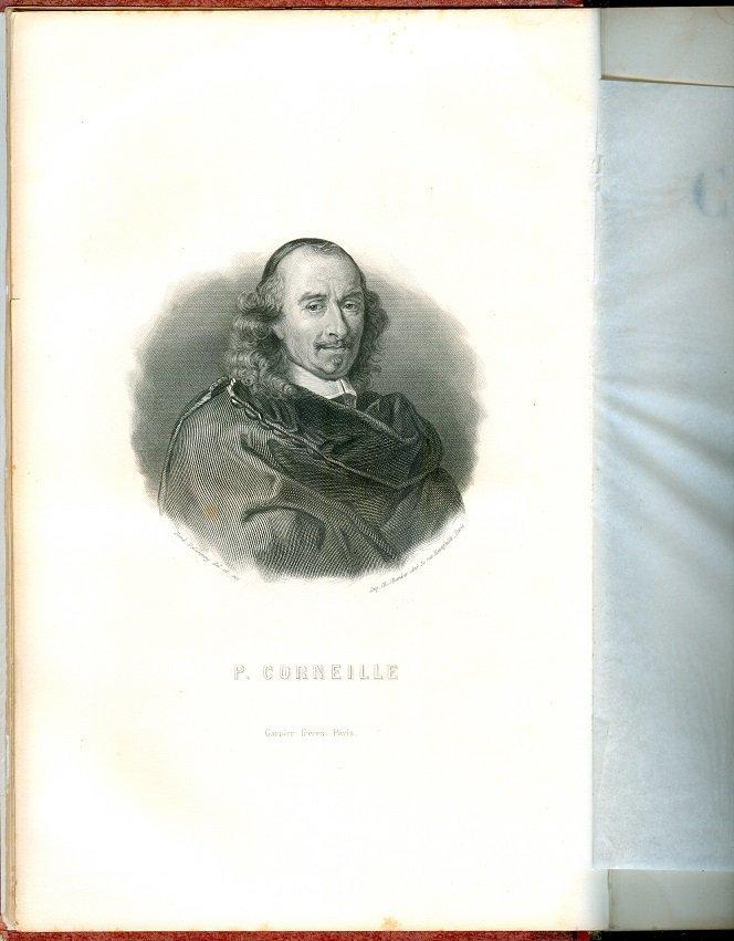 Oeuvres de Pierre & Thomas Corneille, 1857, engravings