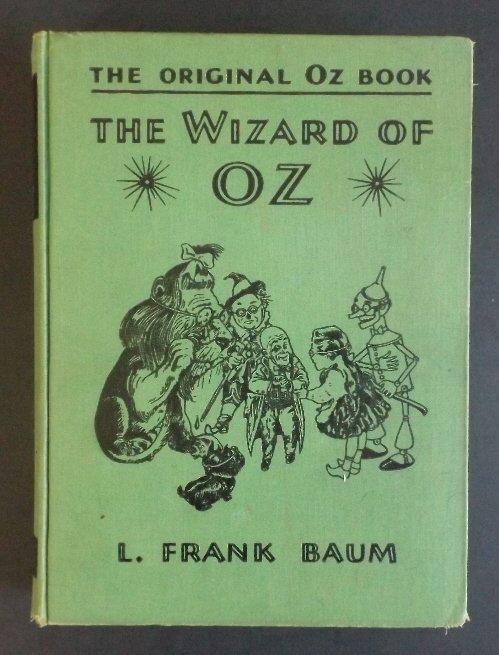 Frank Baum, Wizard of Oz, 1st/1st Film Ed. 1939 ill.