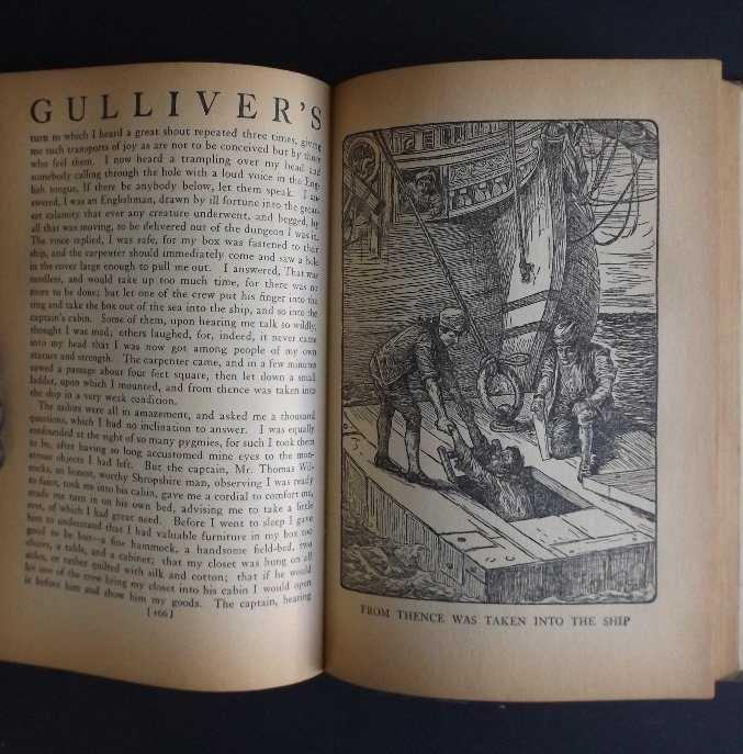 Swift, Gulliver's Travels, Louis Rhead 100 ILL. 1941