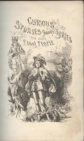 Stories about Fairies, Ruskin, 1stUS 1856 Billings ill.