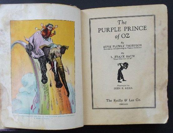 Thompson, Purple Prince of Oz, 1stEd 1932 Neill illustr