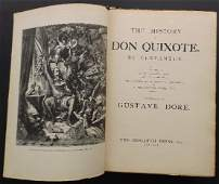 Cervantes, Don Quixote, Gustave Dore illustr. 1935