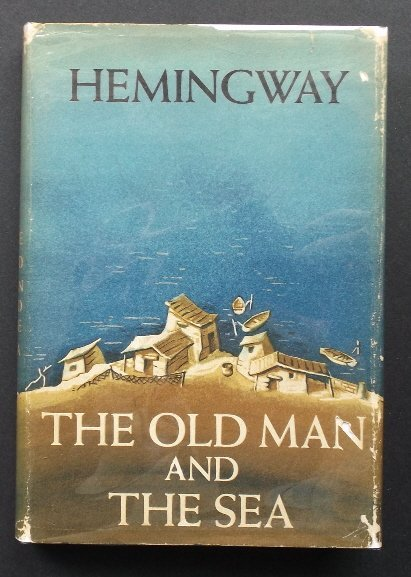 Ernest Hemingway, Old Man and the Sea, 1stEd. 1963 Pr.