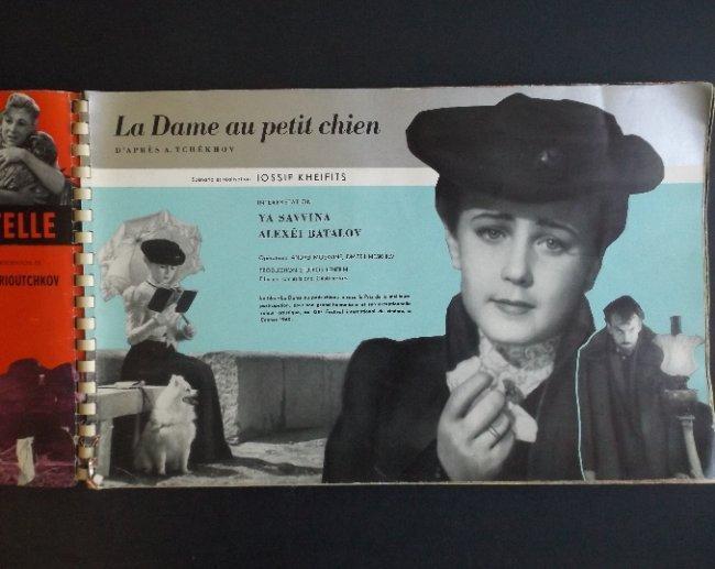 Soviet Russian Film Album Cannes Festival 1961