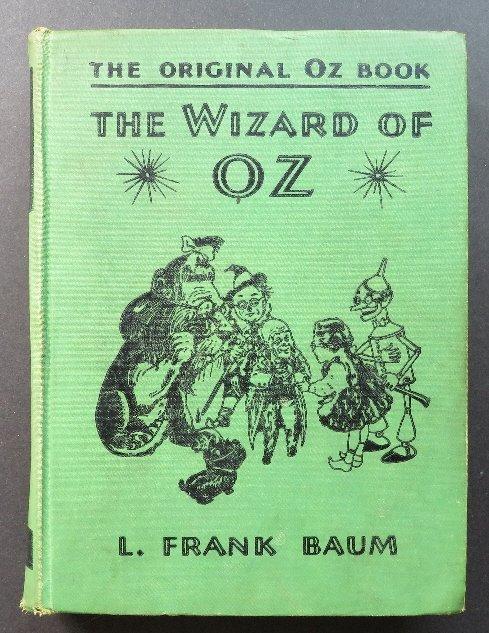 Frank Baum, Wizard of Oz, 1st/1st Movie Ed. 1939 ill.