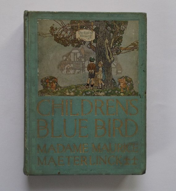 Leblanc, Childrens Blue Bird, 1stUS Ed 1913, Paus ill.