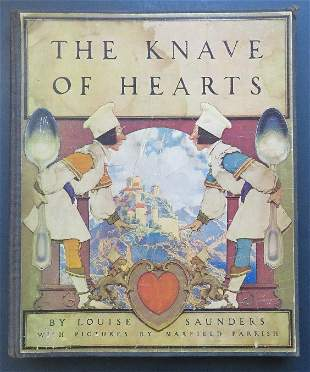 Saunders, Knave of Hearts, 1stEd 1925 Maxfield Parrish