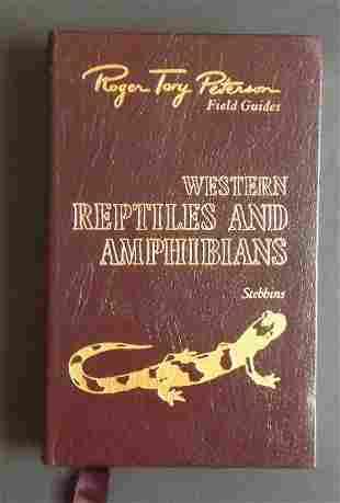 Stebbins, Western Reptiles, Amphibians, Easton Press