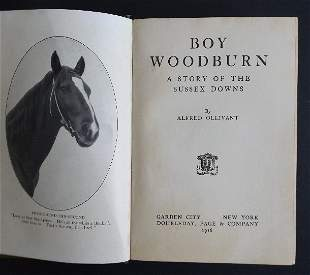 Ollivant, Boy Woodburn, Sussex Downs, 1stUS Ed. 1918