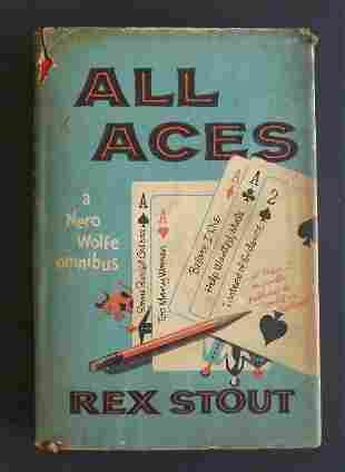 Stout, All Aces A Nero Wolfe Omnibus, 1958, Stories
