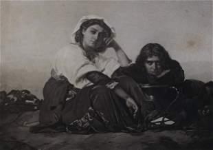 Charles-Henri Lehmann, Repose, photogravure 1881