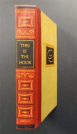 Feuchtwanger, This is the Hour 1stUS Ed Francisco Goya