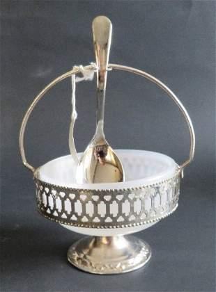 Gales of Sheffield England condiment sugar bowl 1960-70