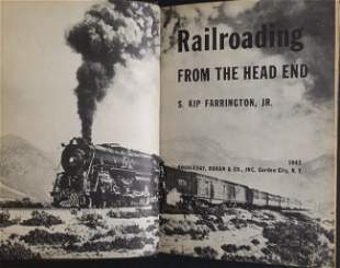 Farrington, Railroading from Head End, 1stEd 1943 ill.